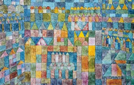 Tempelviertel von Pert Klee Paul