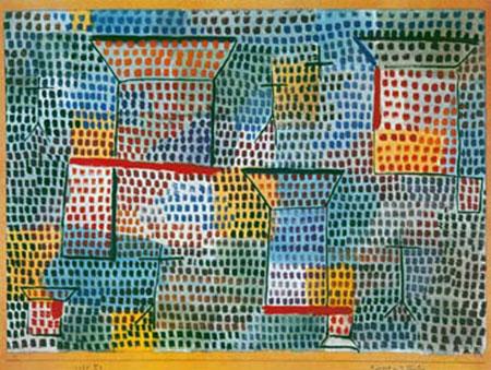Kreuze und Säulen Klee Paul