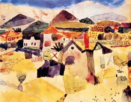 Ansicht von Saint Germain Klee Paul