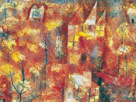 Das Kind in der Landschaft Klee Paul