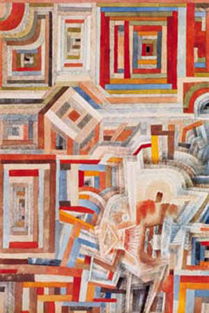 Palace partially destroyed Klee Paul