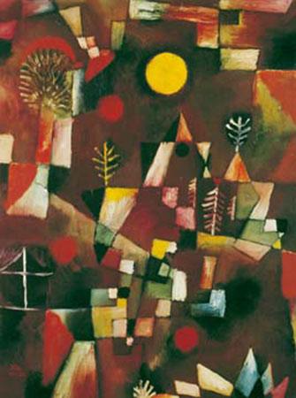 Der Vollmond Klee Paul