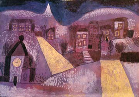 Winterlandschaft Klee Paul