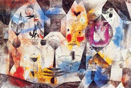 Concentrierter Roman Klee Paul