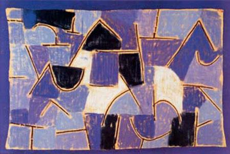 Blaue Nacht Klee Paul