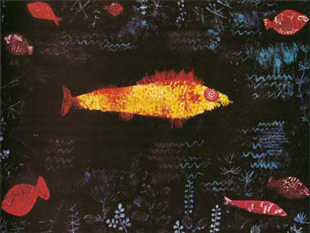 Der goldene Fisch Klee Paul