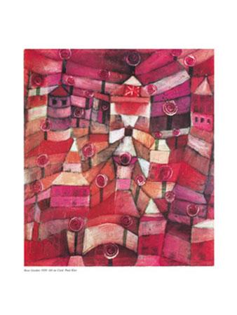 Rose Garden Kunstdruck Klee Paul