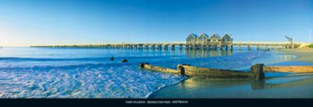 Busselton Pier, Australia Kunstdruck Pleavin Tony