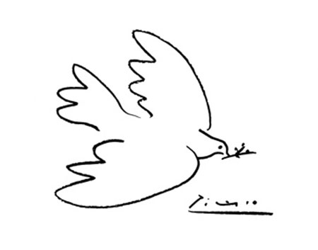 Dove of Peace Kunstdruck Picasso Pablo