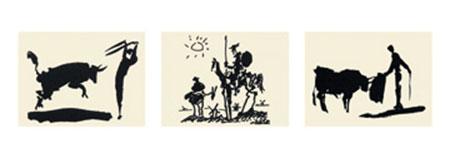Picador, Bullfighter, Don Quixot Kunstdruck Picasso Pablo