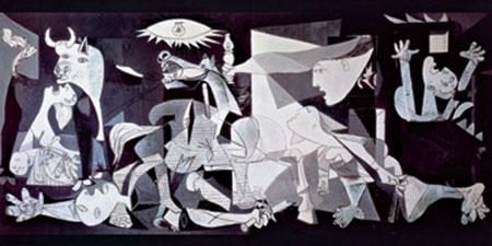 Guernica Kunstdruck Picasso Pablo