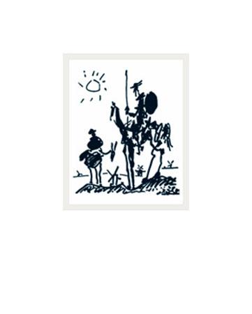 Don Quixote Kunstdruck Picasso Pablo