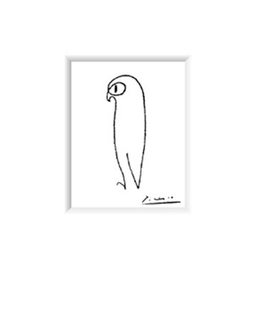 The Owl Kunstdruck Picasso Pablo