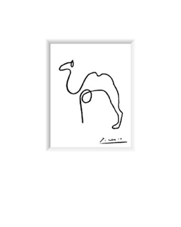 The Camel Kunstdruck Picasso Pablo