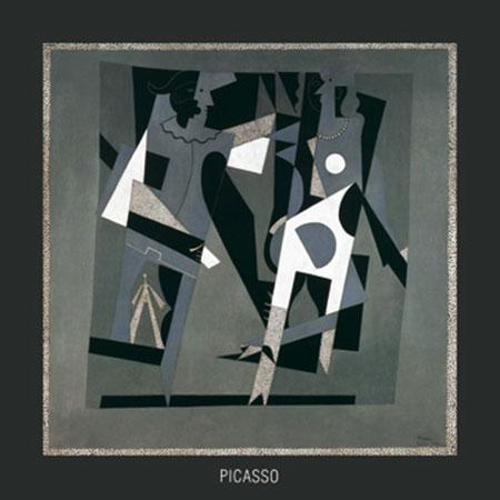 Arlequin et Femme Kunstdruck Picasso Pablo