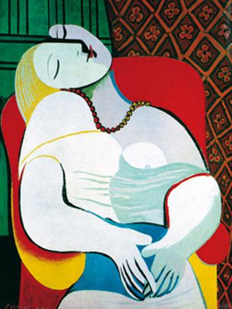 Il sogno Kunstdruck Picasso Pablo