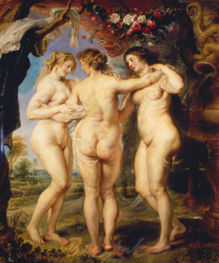 Die drei Grazien Rubens Peter Paul
