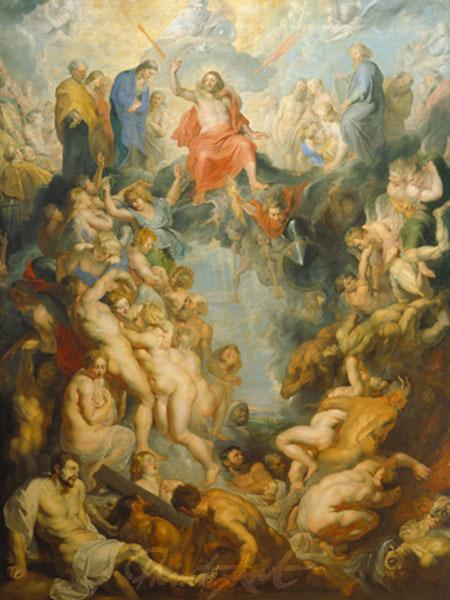 Das große Jüngste Gericht Rubens Peter Paul
