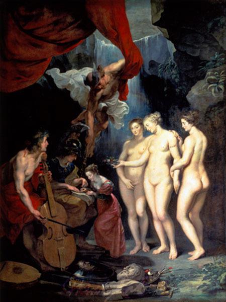Die Erziehung der Maria de' Medi Rubens Peter Paul