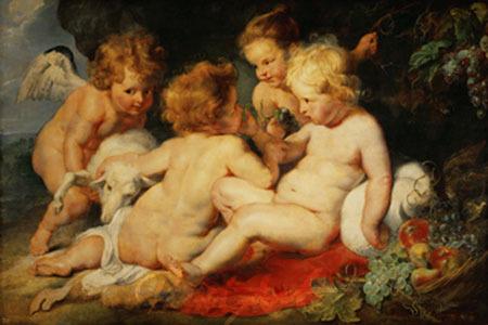 Das Christkind mit dem Johannesk Rubens Peter Paul