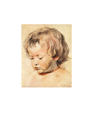 Head of a boy Kunstdruck Rubens Peter Paul