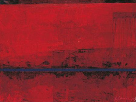 RED Kunstdruck lack.m. Blindprägung Bohnenkamp Ralf
