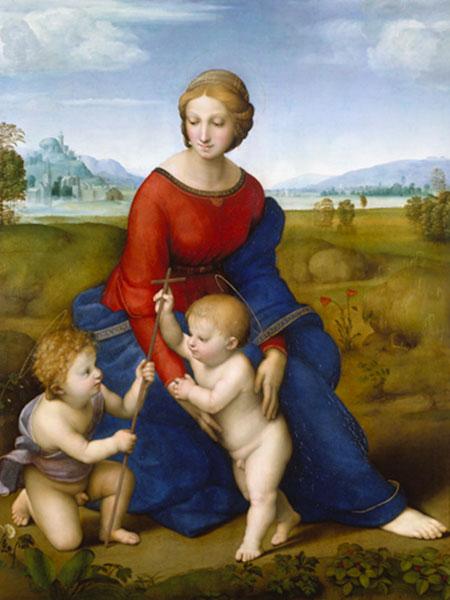 Die Madonna im Grünen Raffael