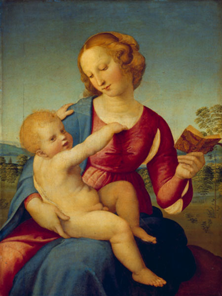 Maria mit dem Christuskind Raffael