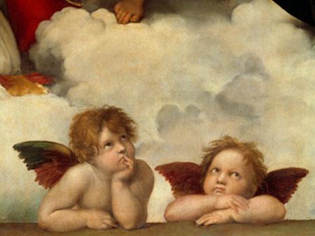 Zwei Engel Raffael