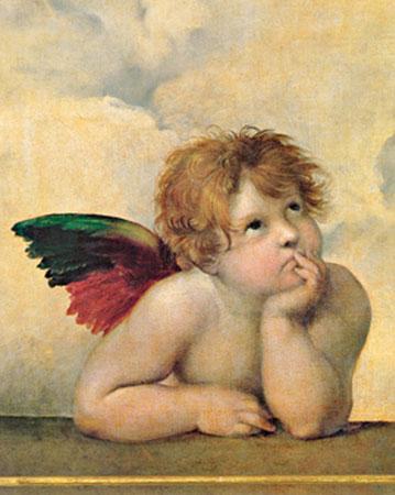 Angelo I Kunstdruck Raffael