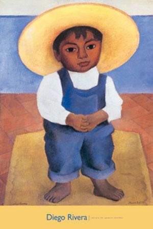 Retrato De Ignacio Sanchez Kunstdruck Rivera Diego