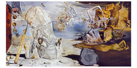 La separazione dell' atomo Kunstdruck Dali Salvador
