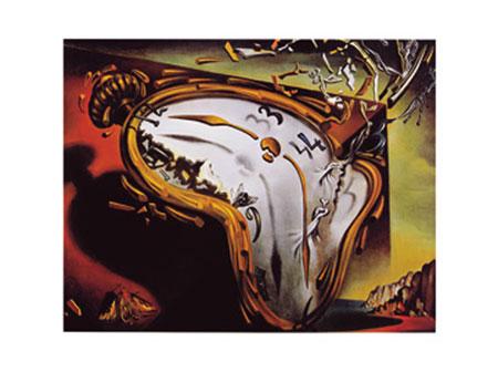 Les montres molles Kunstdruck Dali Salvador