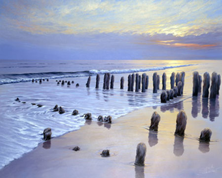 Sunset at Ostsee Coast I Schneider Sigurd