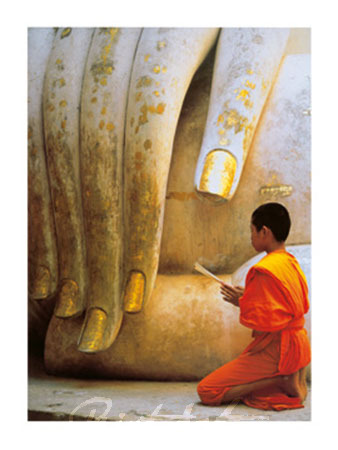 The Hand of Buddha Kunstdruck Sitton Hugh