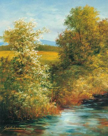 Frühling Kunstdruck Springet Mike
