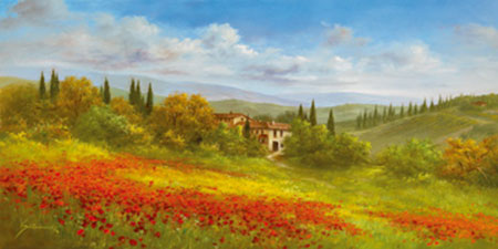Tuscan Beauty I Kunstdruck Springet Mike