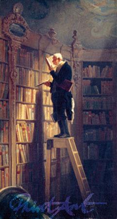 Der Bücherwurm Spitzweg Carl