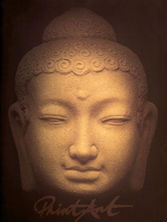 Maitreya Spiegelfolie gold Theravada