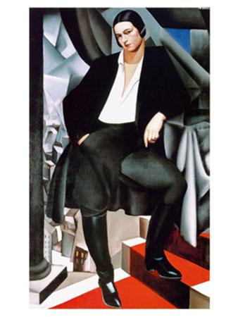 Ritratto della duchessa Kunstdruck De Lempicka Tamara