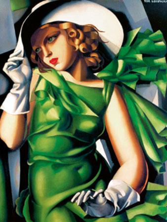 Jeune fille au vent Kunstdruck De Lempicka Tamara