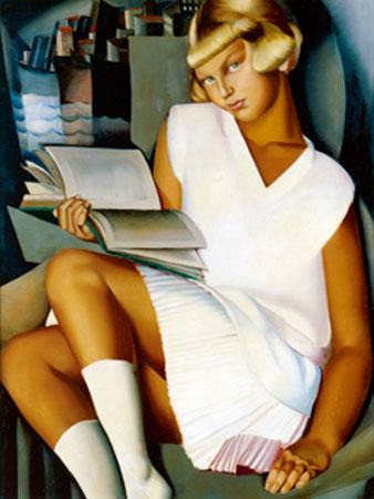 Kizette en rose Kunstdruck De Lempicka Tamara