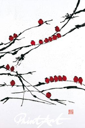 Bamboo Chorus Kunstdruck Tsang Jenny