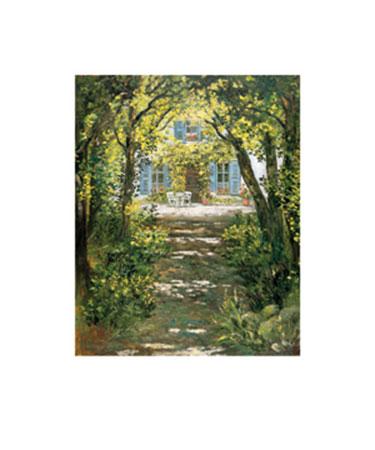 Schattenbäume Kunstdruck von der Wehl Ute