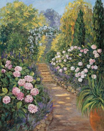 Botanischer Garten I Kunstdruck von der Wehl Ute