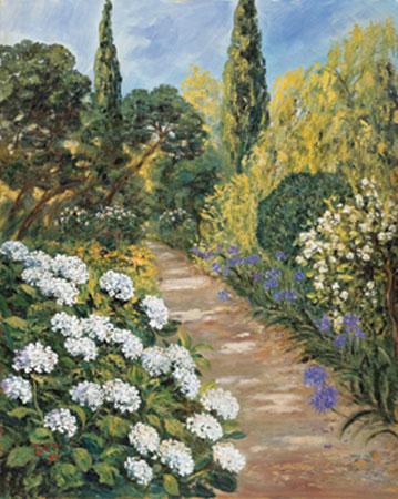 Botanischer Garten II Kunstdruck von der Wehl Ute