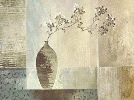 Simplicity I Kunstdruck mit Folienprägung Verbeek & Van De