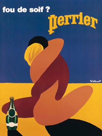 Perrier Kunstdruck Villemot Bernard