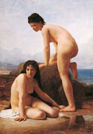 The Bathers Bouguereau William