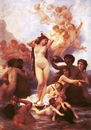 Die Geburt der Venus Bouguereau William